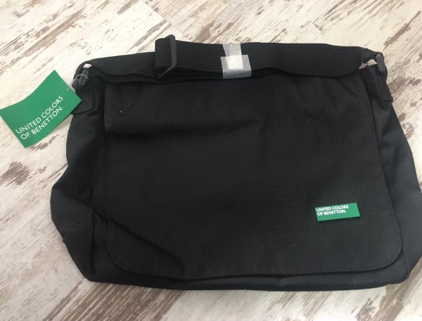 United Colors of Benetton / Klapptasche schwarz