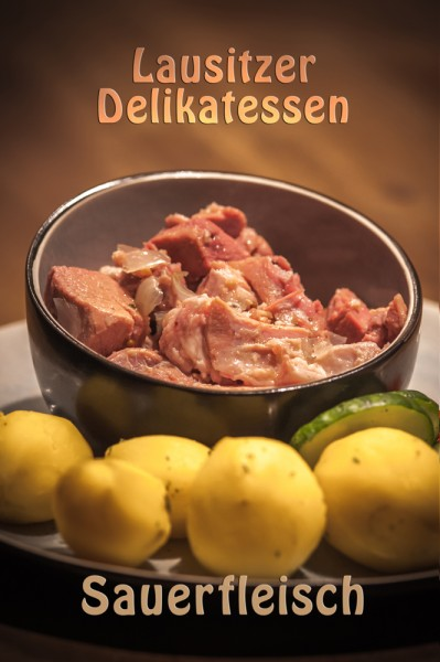 Sauerfleisch in Aspik (650g im Glas)