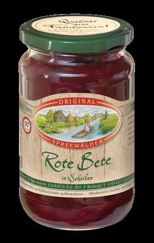 Rote Bete (370 ml im Glas)