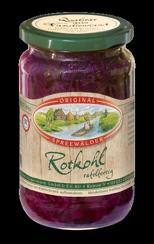 Rotkohl (370 ml im Glas)